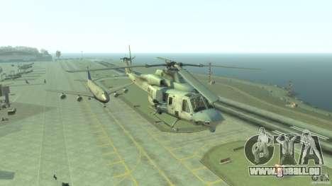 Bell UH-1Y Venom für GTA 4 Rückansicht