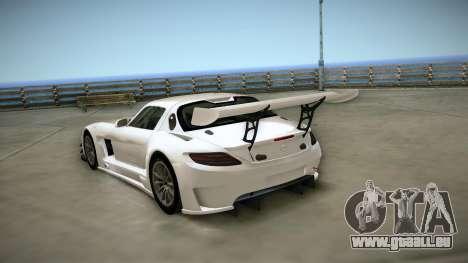 Mercedes-Benz SLS AMG GT3 für GTA San Andreas rechten Ansicht