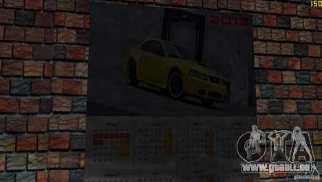 Hôtel Retekstur pour GTA Vice City cinquième écran