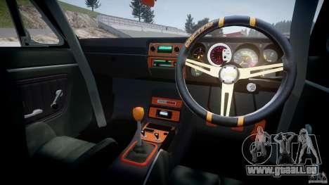 Nissan Skyline Hakosuka (KPGC10) Mountain Drift pour GTA 4 est une vue de dessous