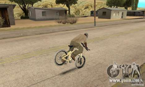Specialized P.3 Mountain Bike v 0.8 für GTA San Andreas Rückansicht