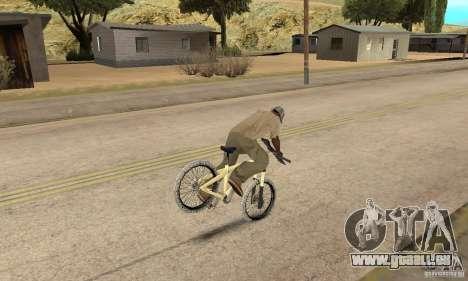 Specialized P.3 Mountain Bike v 0.8 für GTA San Andreas Rückansicht