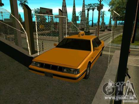 Intruder Taxi pour GTA San Andreas