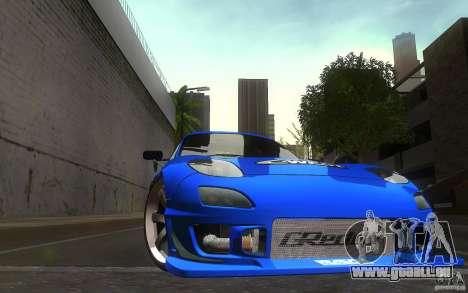 Mazda Rx7 C-West pour GTA San Andreas vue de côté