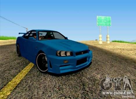 Nissan Skyline R34 Z-Tune V3 pour GTA San Andreas
