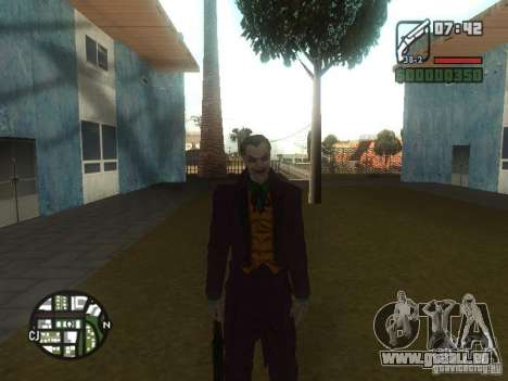HQ Joker Skin für GTA San Andreas her Screenshot