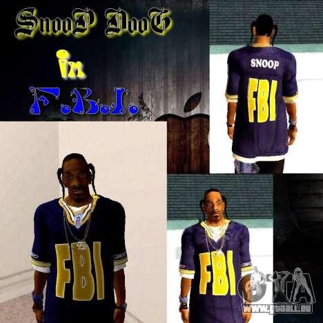Snoop DoG le F.B.I. pour GTA San Andreas