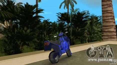 Aprilla SR 50 Racing für GTA Vice City zurück linke Ansicht