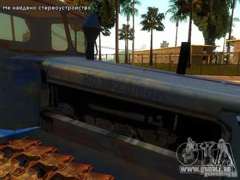 DT-75 m-Kasachstan für GTA San Andreas Seitenansicht