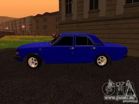 Volga GAZ 31029 pour GTA San Andreas laissé vue