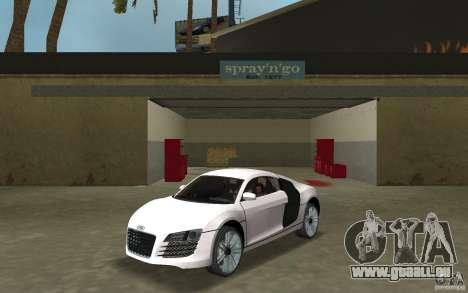 Audi R8 Le Mans pour GTA Vice City