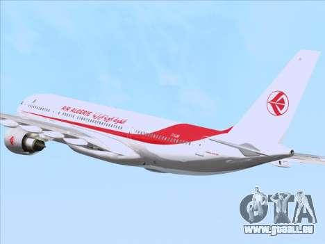 Airbus A330-203 Air Algerie für GTA San Andreas Unteransicht