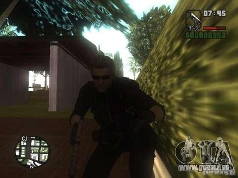 Wesker de RE5 pour GTA San Andreas troisième écran