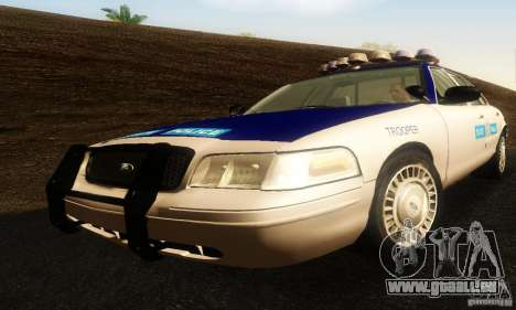 Ford Crown Victoria Virginia Police pour GTA San Andreas
