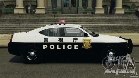 Dodge Charger Japanese Police [ELS] für GTA 4 linke Ansicht