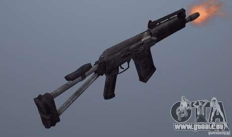Izhmash Saiga-12K pour GTA San Andreas deuxième écran