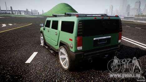 Hummer H2 für GTA 4 hinten links Ansicht
