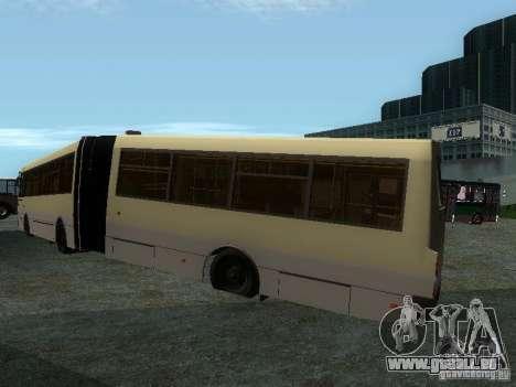 Laz-А291 pour GTA San Andreas laissé vue