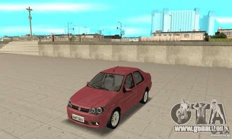Fiat Siena HLX 1.8 Flex pour GTA San Andreas