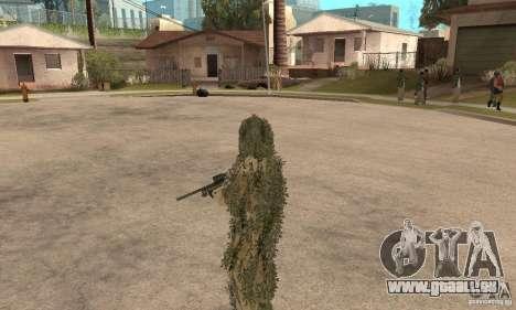 Sniper de peau pour GTA San Andreas sixième écran