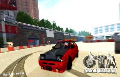 London-Drift für GTA San Andreas