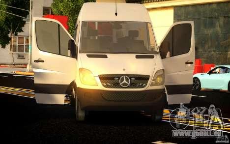 Mercedes-Benz Sprinter Passenger pour GTA 4 est un côté