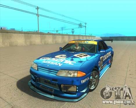 Nissan Skyline GT-R R32 1993 Tunable pour GTA San Andreas