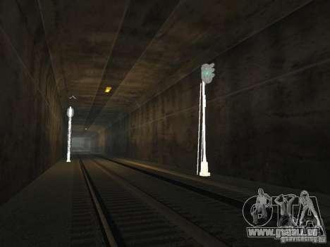 Feux de circulation ferroviaire 2 pour GTA San Andreas quatrième écran