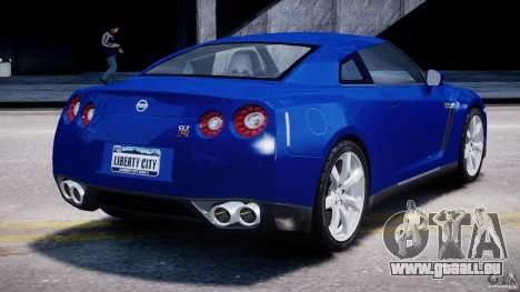 Nissan Skyline GT-R R35 für GTA 4 Seitenansicht