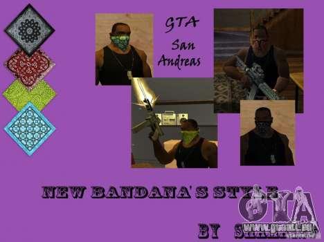 New Bandanas Style pour GTA San Andreas