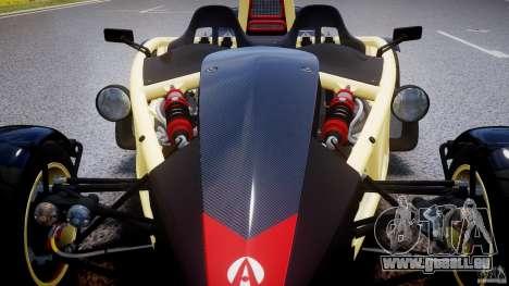 Ariel Atom 3 V8 2012 pour GTA 4 Salon