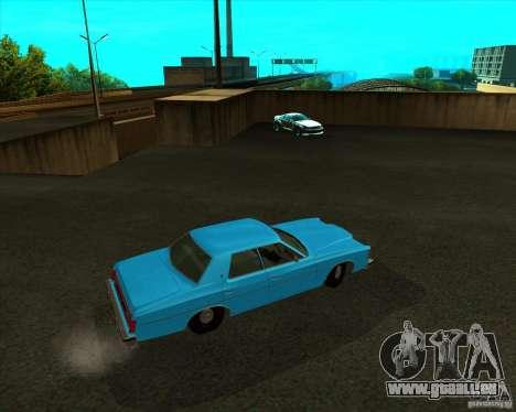 Ford LTD 4 door 1975 für GTA San Andreas zurück linke Ansicht