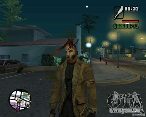Jason Voorhees pour GTA San Andreas