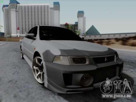 Mitsubishi Lancer Evolution VI für GTA San Andreas