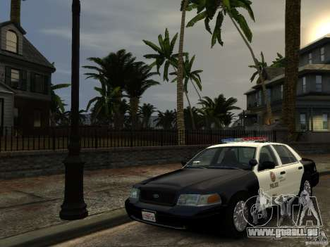 Ford Crown Victoria LAPD [ELS] für GTA 4