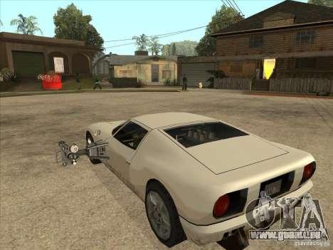 Le script CLEO : Super Car pour GTA San Andreas deuxième écran