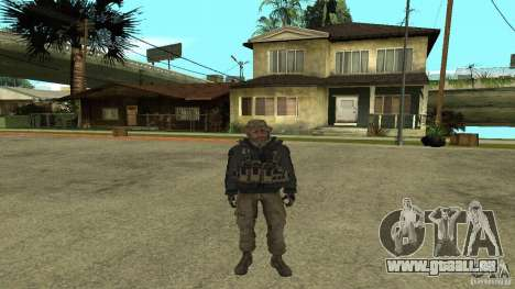 Captain Price für GTA San Andreas