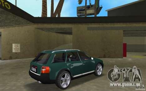 Audi Allroad Quattro pour une vue GTA Vice City de la droite
