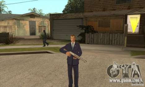 Dmitri Anatoljewitsch Medwedew für GTA San Andreas dritten Screenshot