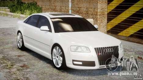 Audi S8 D3 2009 für GTA 4 Innenansicht