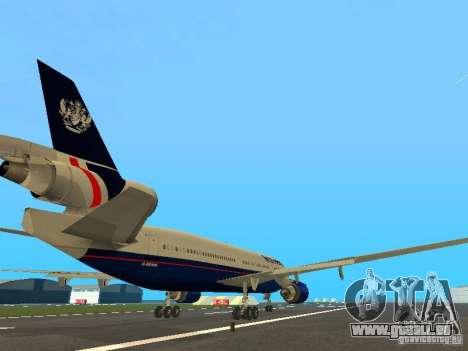 McDonell Douglas DC10 British Airways pour GTA San Andreas vue de droite