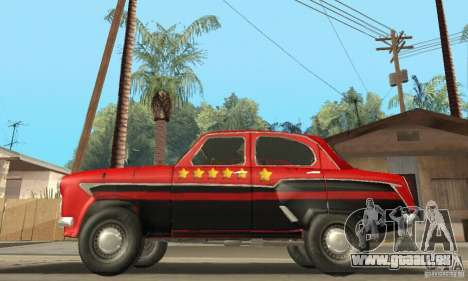 Moskvitch 407 1958 für GTA San Andreas Unteransicht