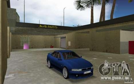 Mitsubishi Galant pour GTA Vice City vue arrière