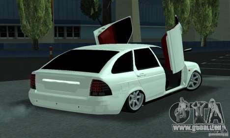 Lada Priora Lambo pour GTA San Andreas vue de droite