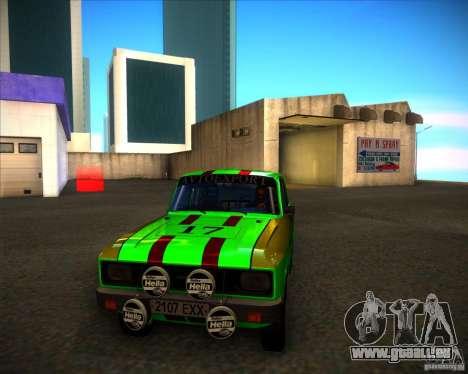 AZLK 2140SL Rallye für GTA San Andreas linke Ansicht