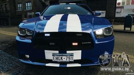Dodge Charger Unmarked Police 2012 [ELS] pour GTA 4 est une vue de dessous