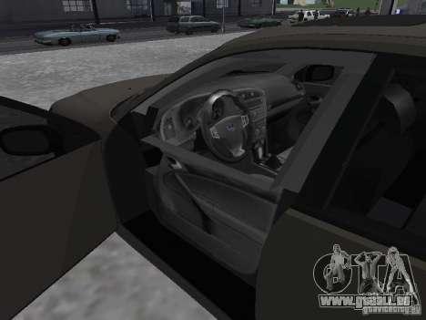 Saab 9-3 Turbo X pour GTA San Andreas sur la vue arrière gauche