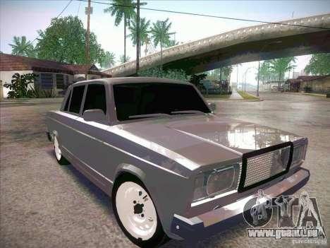 VAZ 2107 criminel pour GTA San Andreas vue de droite