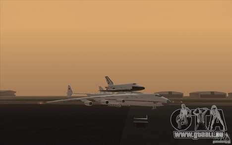 Antonov AN225 pour GTA San Andreas laissé vue