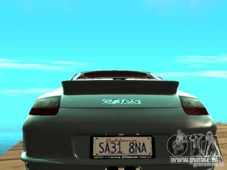 Porsche 997 GT3 RS pour GTA San Andreas vue de droite
